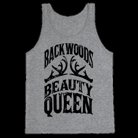 Backwoods Beauty Queen Tank Top
