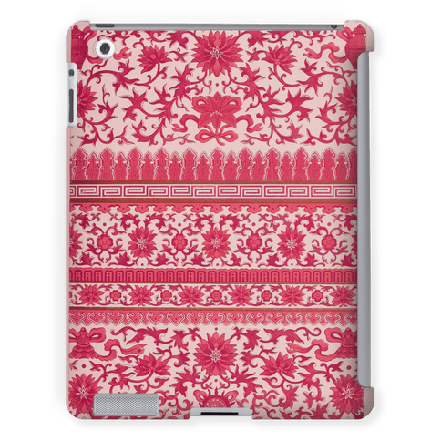 Ornate Pattern Tablet Case (Pink)