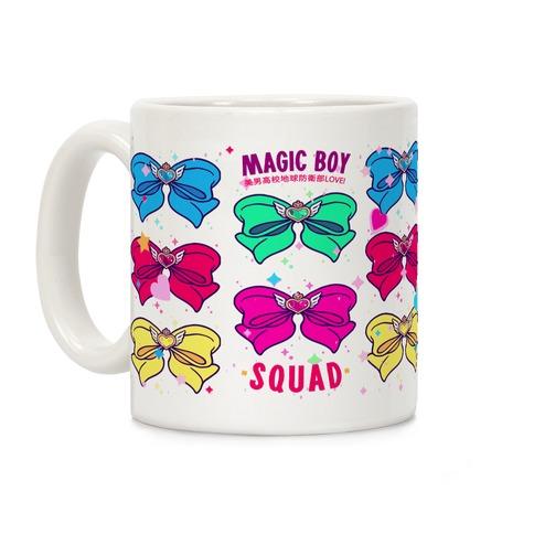 Magic Boy Anime Bows Coffee Mug