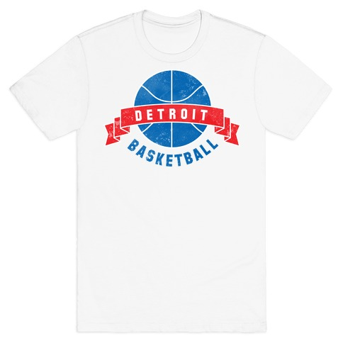 Detroit Basketball T-Shirt
