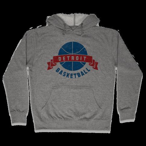 Detroit Basketball Hooded Sweatshirt