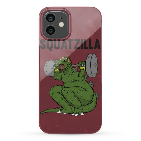 Squatzilla Phone Case