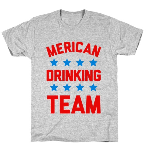 Merican Drinking Team T-Shirt