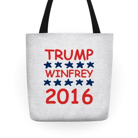 Trump Winfrey 2016 Tote