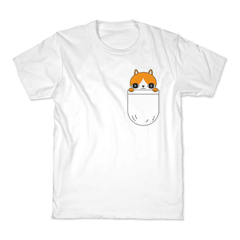 Pocket Cat Kids T-Shirt