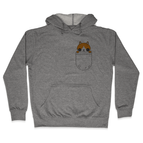 Pocket Cat Hooded Sweatshirt