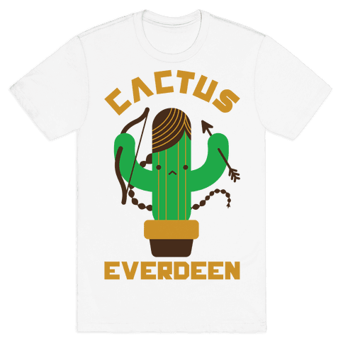 Cactus Everdeen Mens T-Shirt