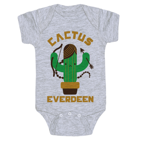 Cactus Everdeen Baby Onesy