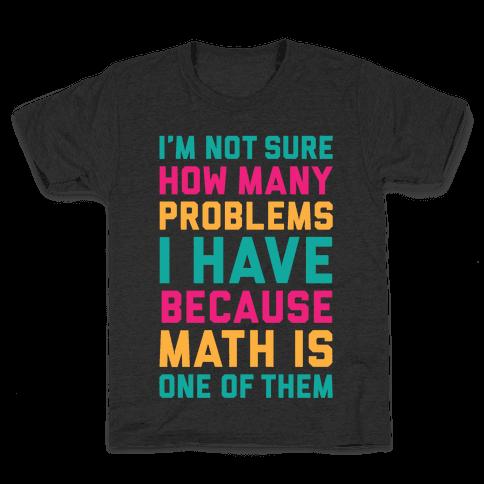 Math Problems Kids T-Shirt