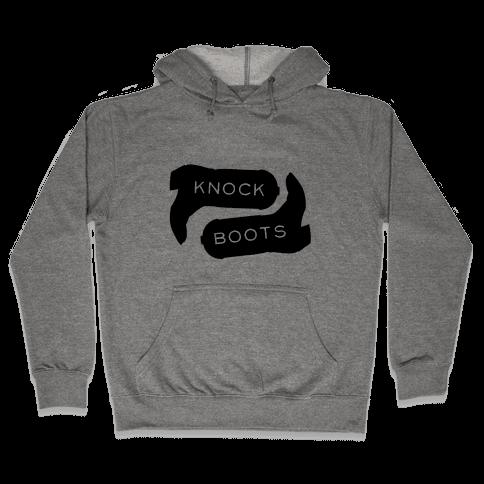 Knock Boots Hooded Sweatshirt