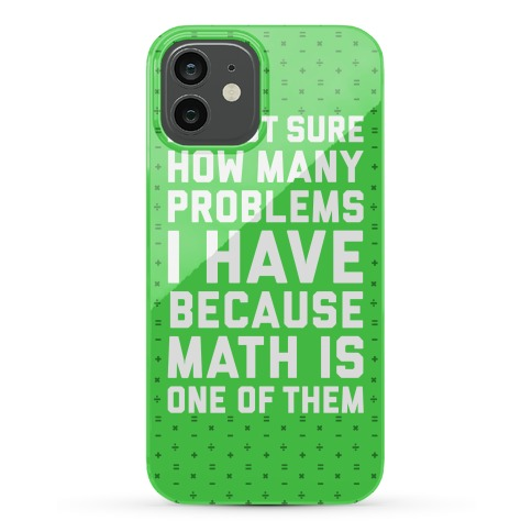 Math Problems Phone Case