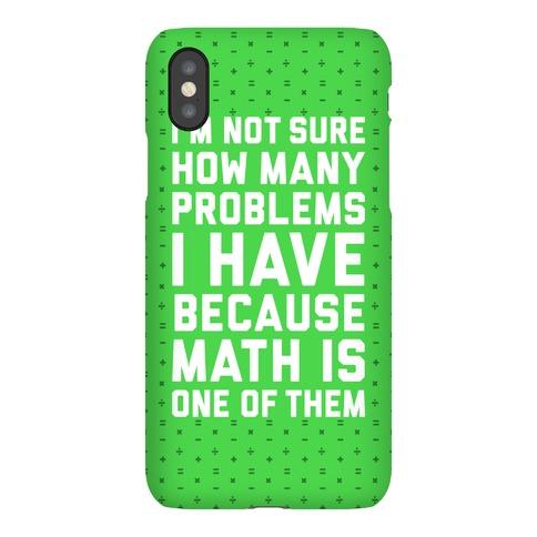 Math Problems Phone Case