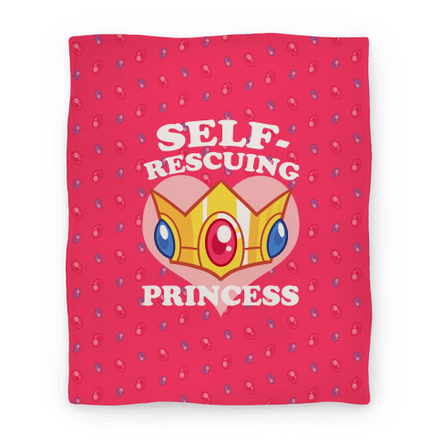 Self-Rescuing Princess Blanket