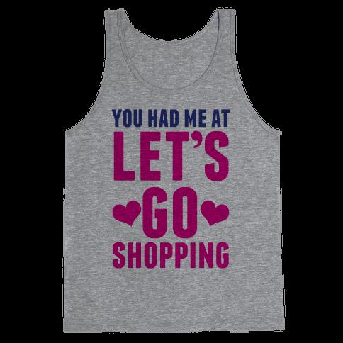 Let's Go Shopping Tank Top
