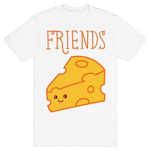 Best Friends Macaroni and Cheese 2 Mens T-Shirt