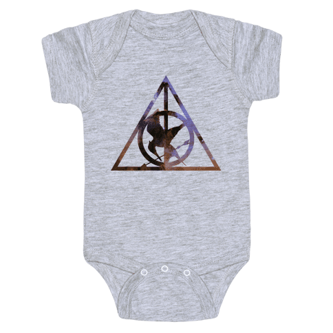 The Deathly Hunger Baby Onesy