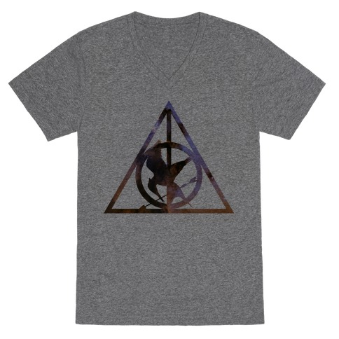 The Deathly Hunger V-Neck Tee Shirt