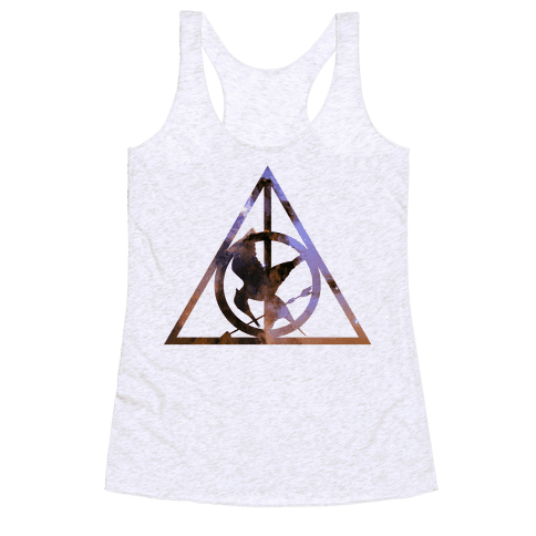 The Deathly Hunger Racerback Tank Top