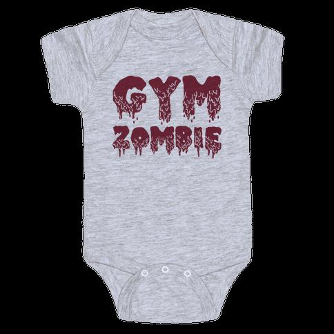 Gym Zombie Baby Onesy