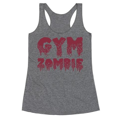 Gym Zombie Racerback Tank Top