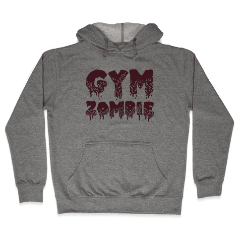 Gym Zombie Hooded Sweatshirt