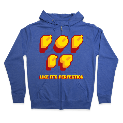 POP IT Zip Hoodie