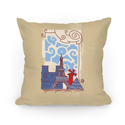 The City of Love Pillow