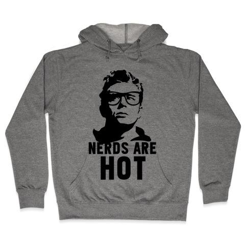 Nerds Are Hot Hooded Sweatshirt