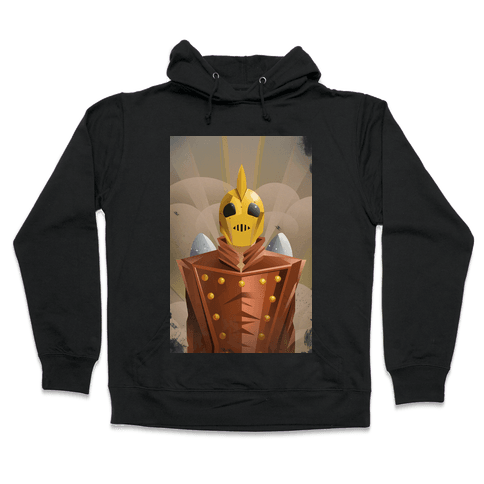 The Rocketing Hero Hooded Sweatshirt