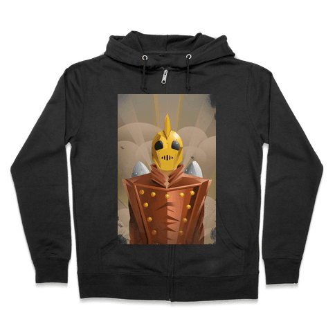 The Rocketing Hero Zip Hoodie