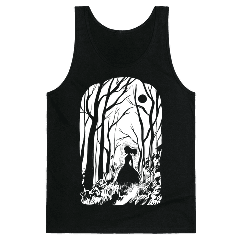 Ghost In The Woods Tank Top