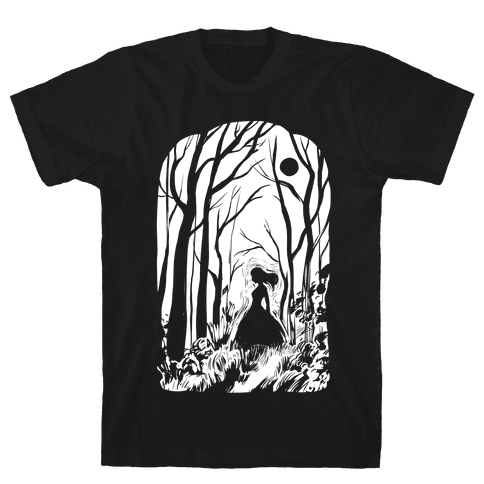 Ghost In The Woods Mens T-Shirt