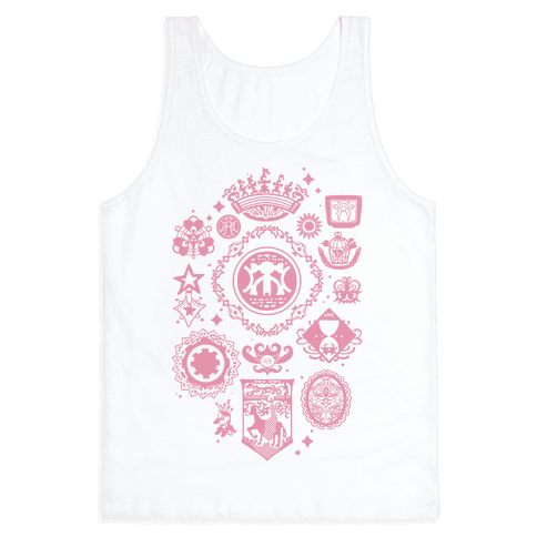 Madoka Magica Witches Kiss Tank Top