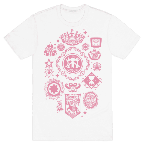 Madoka Magica Witches Kiss Mens T-Shirt