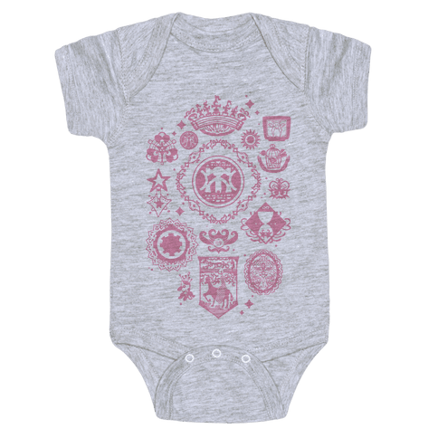 Madoka Magica Witches Kiss Baby Onesy