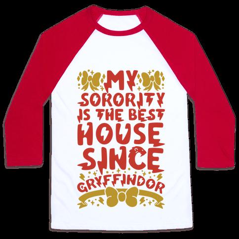 Gryffindor Sorority Baseball Tee