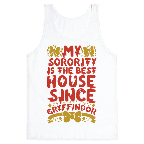 Gryffindor Sorority Tank Top