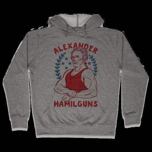 Alexander HamilGUNS Hooded Sweatshirt