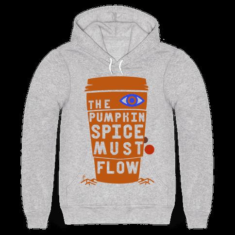 The Pumpkin Spice Must Flow