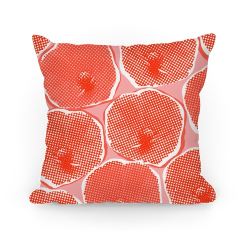 Large Red Poppy Flower Pattern