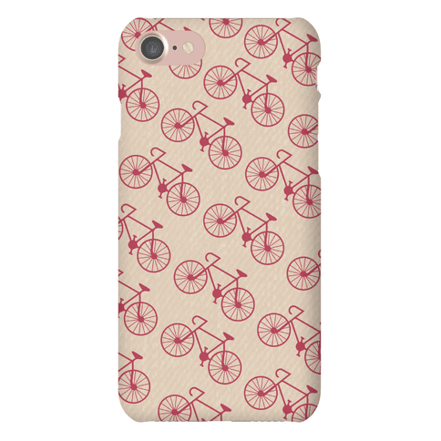 Bike Pattern Phone Case