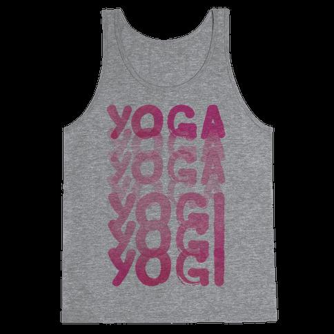 Yoga Into A Yogi Tank Top