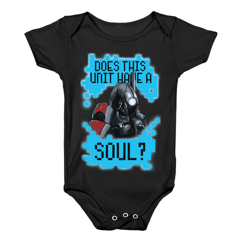 Does This Unit Have a Soul? (Legion) Baby Onesy