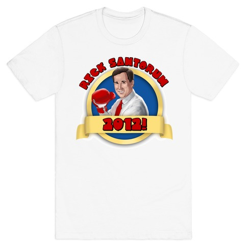 Rick Santorum for 2012! Mens T-Shirt