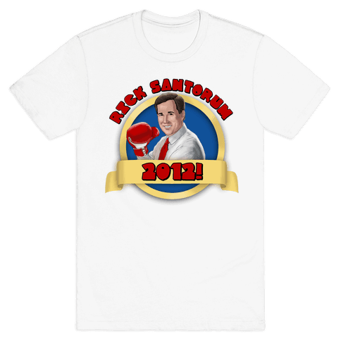 Rick Santorum for 2012! Mens T-Shirt