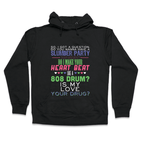 Just a Question Hooded Sweatshirt