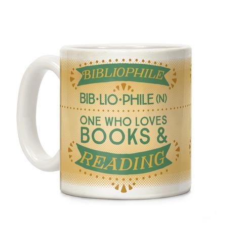 Bibliophile Definition Coffee Mug