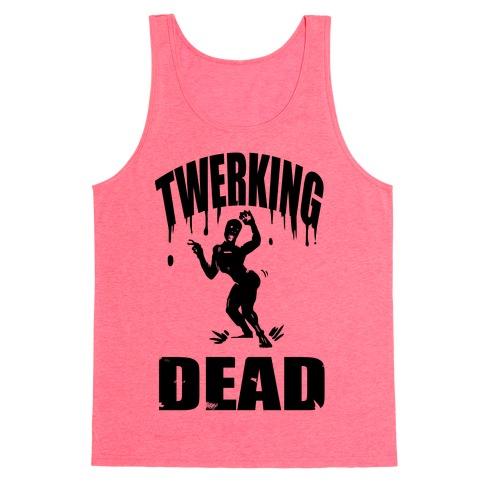 The Twerking Dead Tank Top