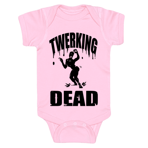 The Twerking Dead Baby Onesy