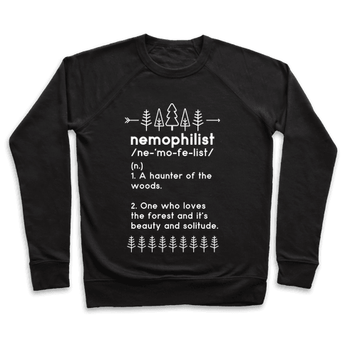 Nemophilist Definition Pullover